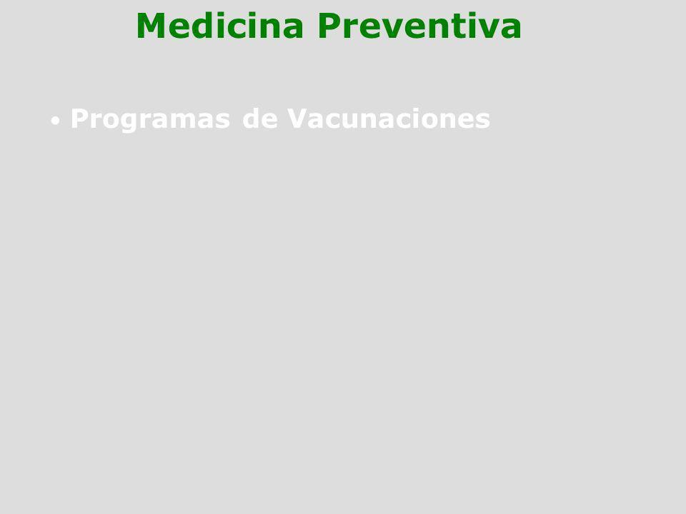 Programas de Vacunaciones