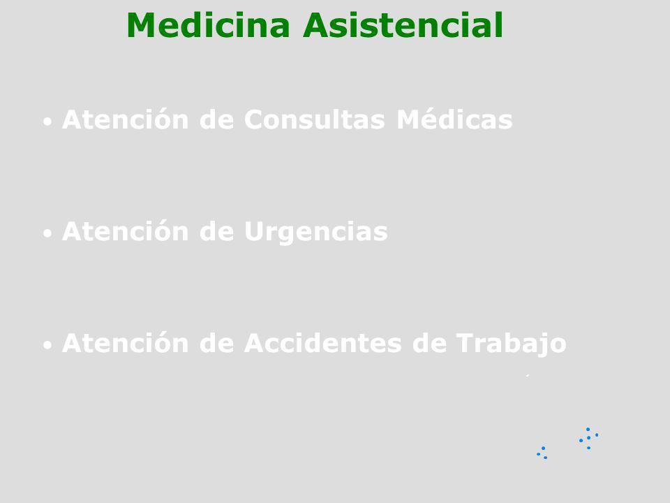 Medicina Asistencial Atención de Consultas Médicas