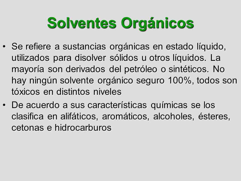 Solventes Orgánicos