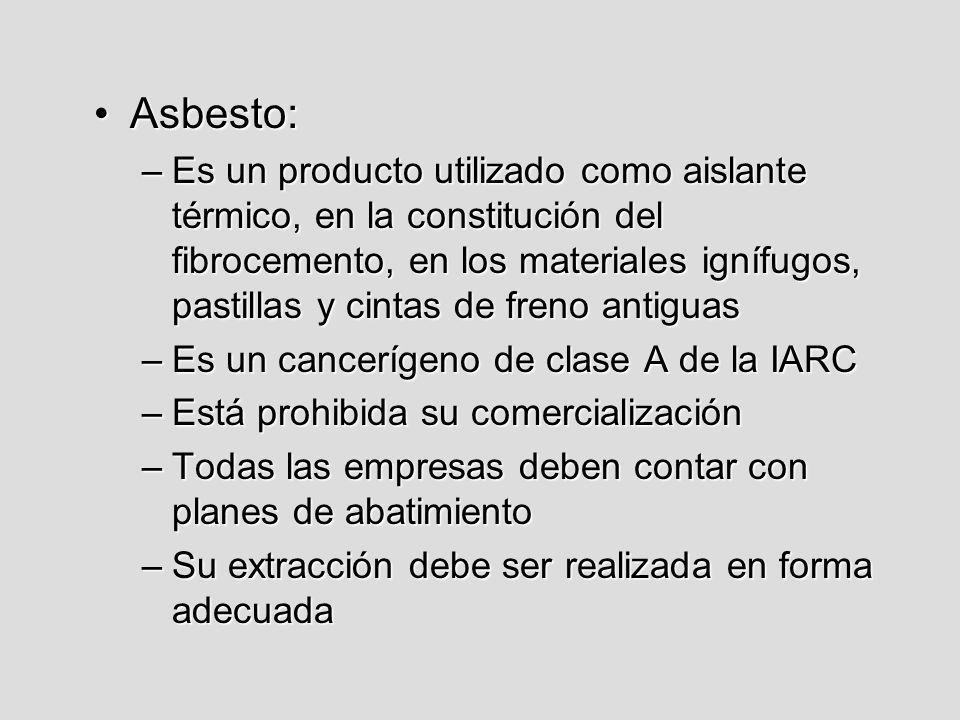 Asbesto: