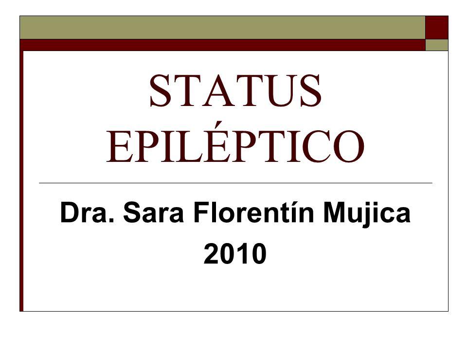 Dra. Sara Florentín Mujica 2010