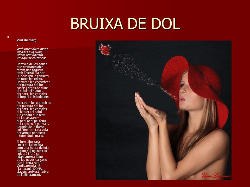 BRUIXA DE DOL