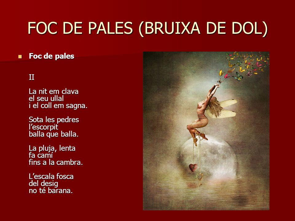 FOC DE PALES (BRUIXA DE DOL)