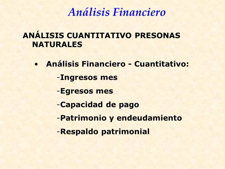 ANÁLISIS CUANTITATIVO PRESONAS NATURALES