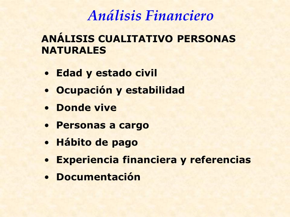 ANÁLISIS CUALITATIVO PERSONAS NATURALES