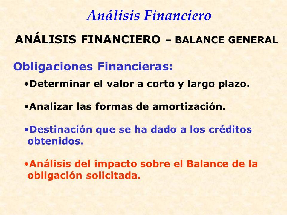 Obligaciones Financieras: