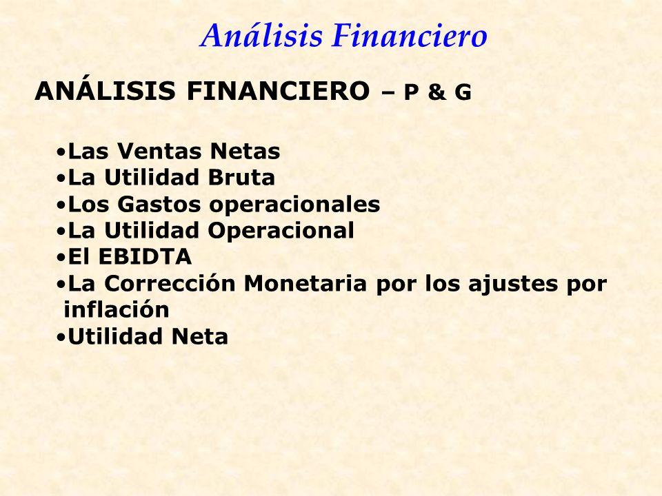 ANÁLISIS FINANCIERO – P & G
