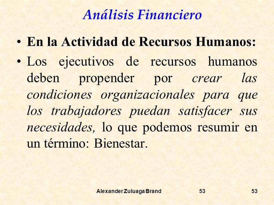 En la Actividad de Recursos Humanos: