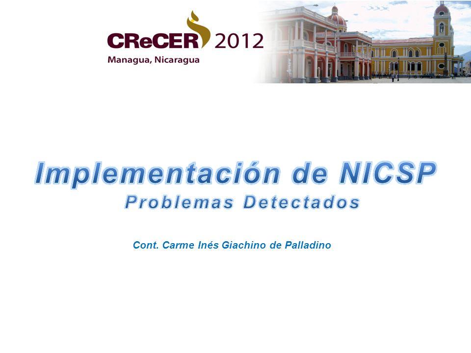 Implementación de NICSP