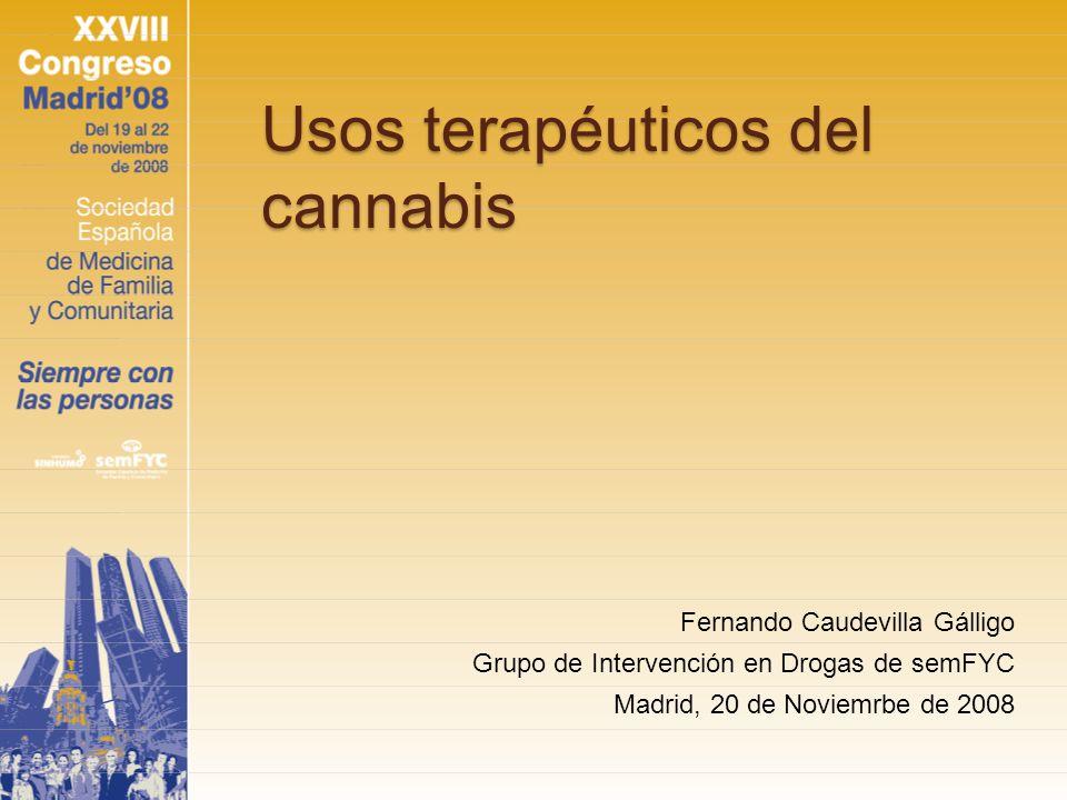 Usos terapéuticos del cannabis