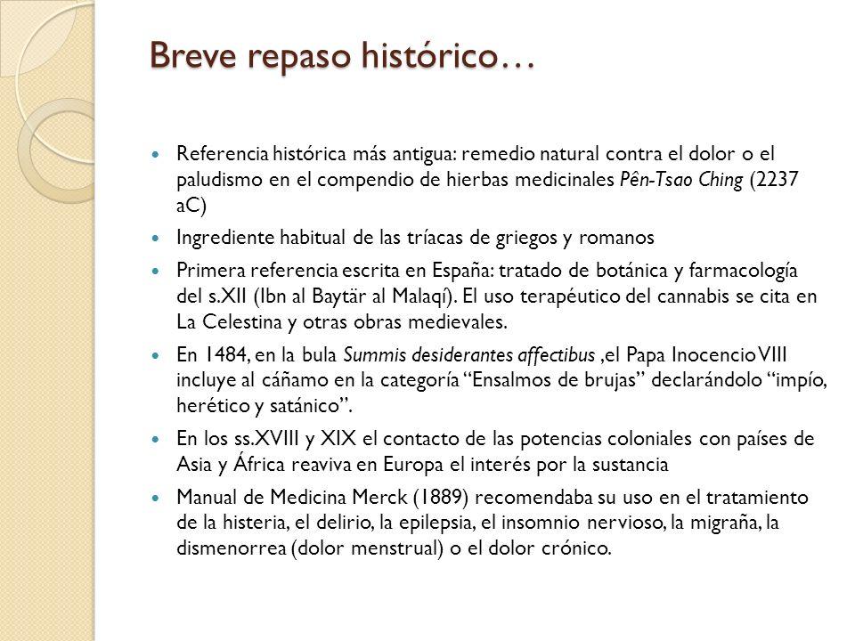 Breve repaso histórico…