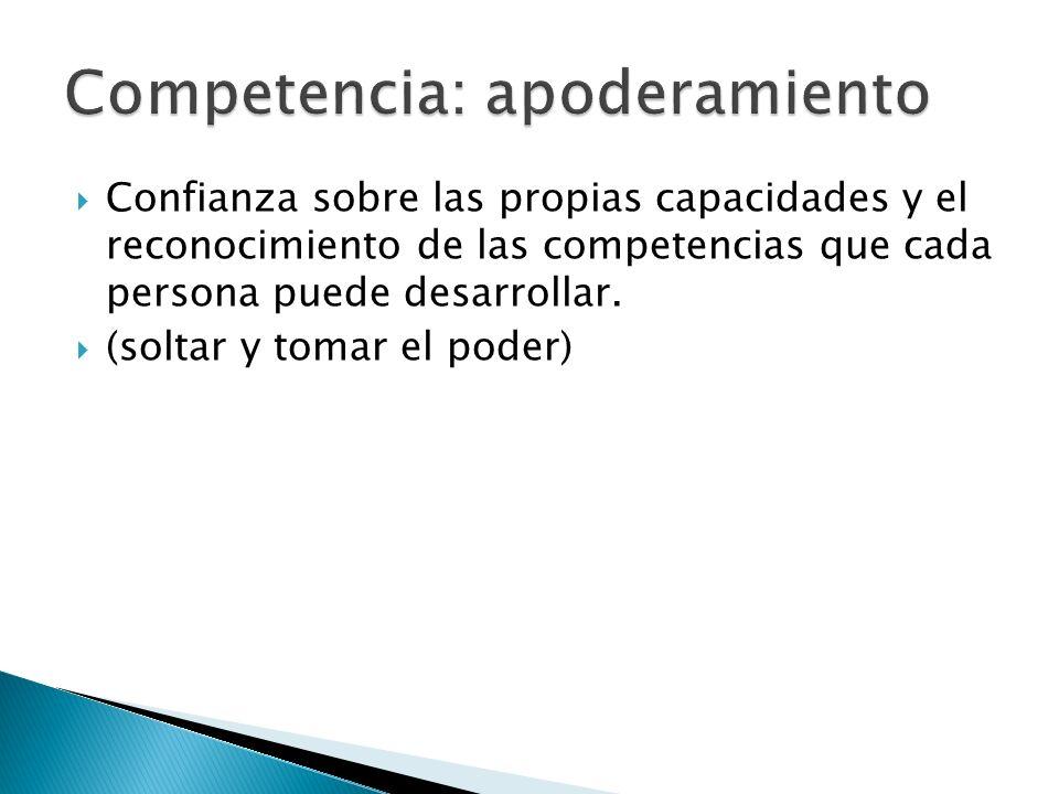 Competencia: apoderamiento