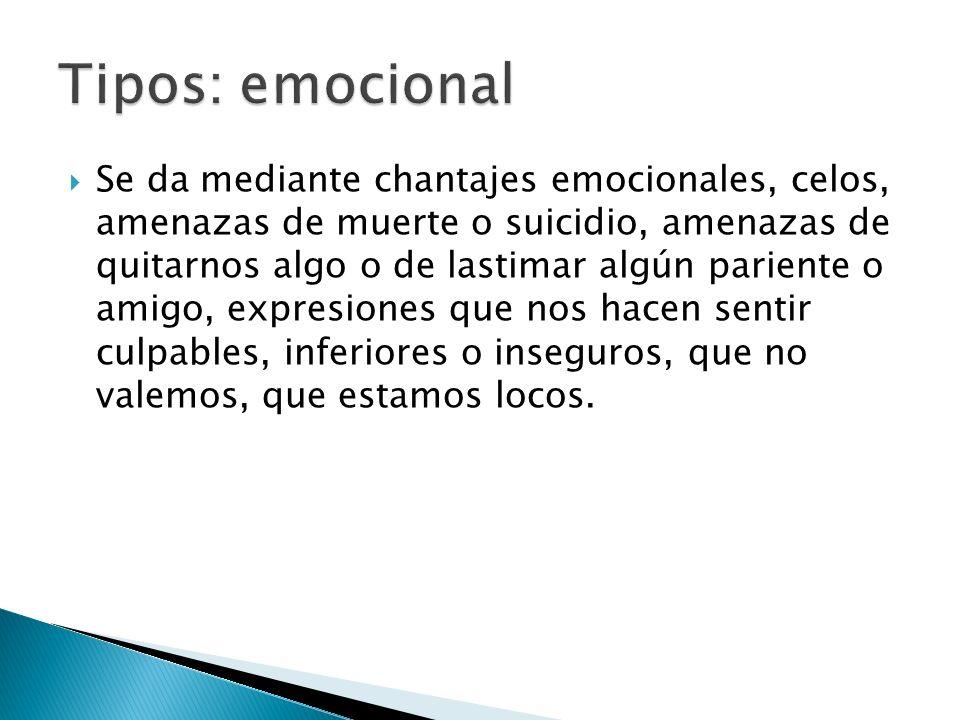 Tipos: emocional