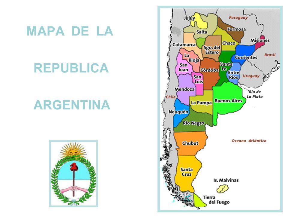 MAPA DE LA REPUBLICA ARGENTINA Ppt Video Online Descargar - Argentina mapa
