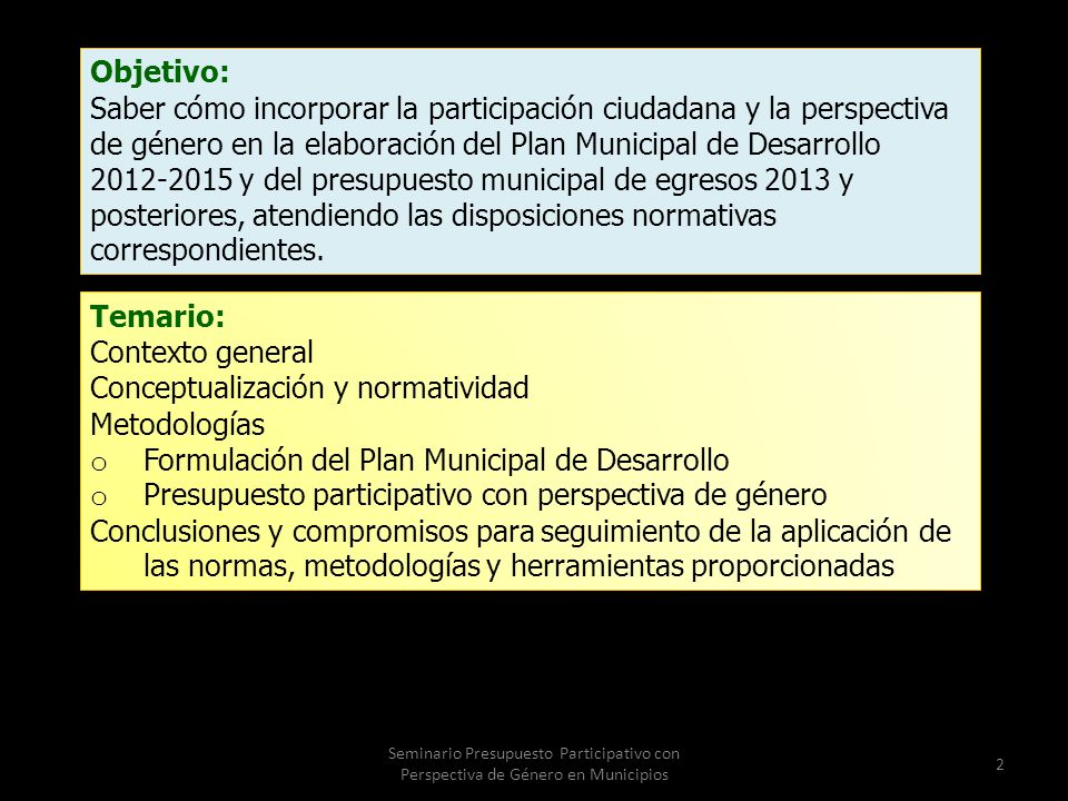 Conceptualización y normatividad Metodologías