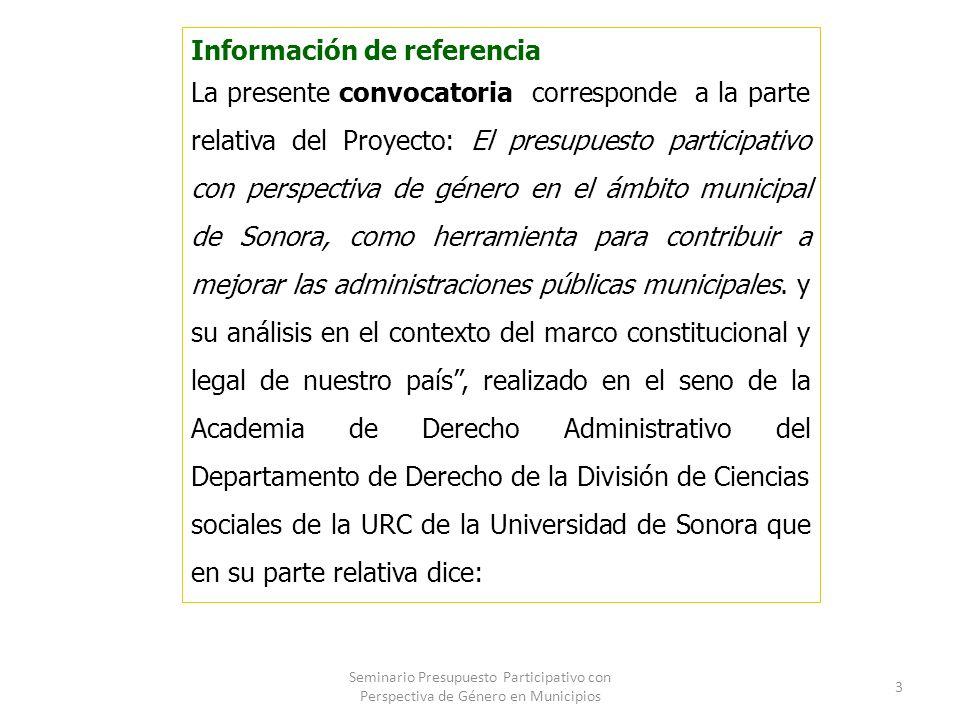 Información de referencia