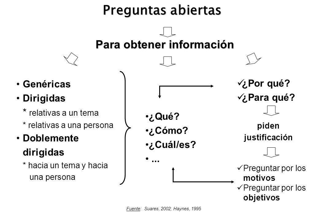 Para obtener información