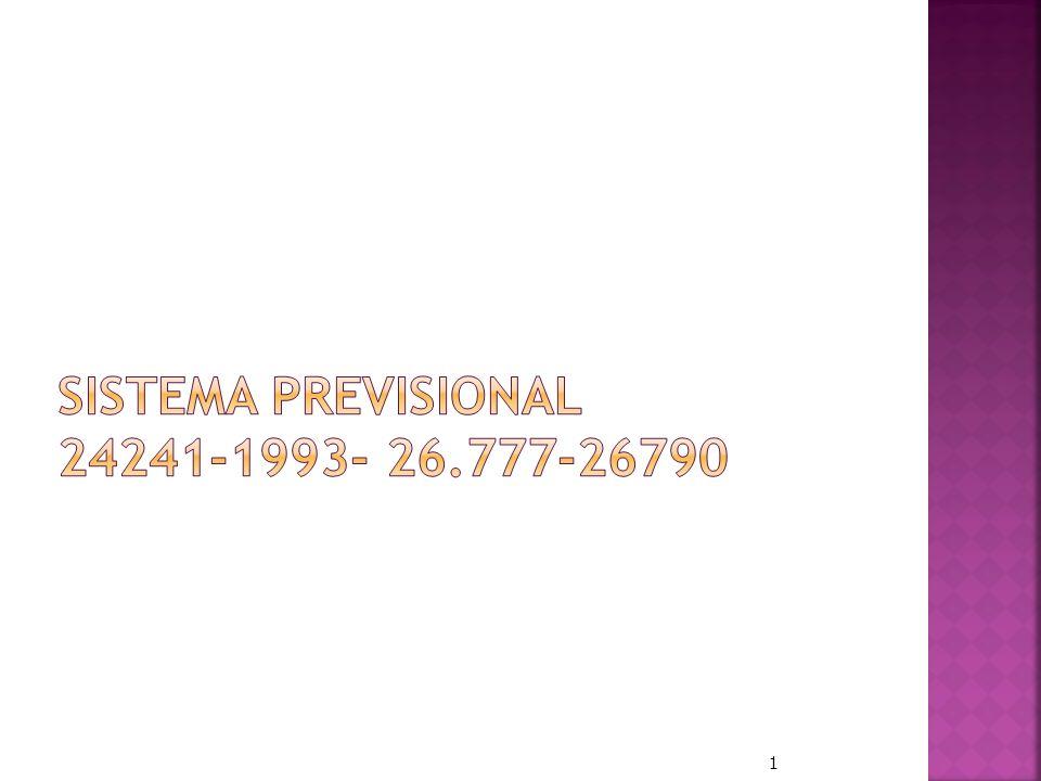 Sistema Previsional 24241-1993- 26.777-26790