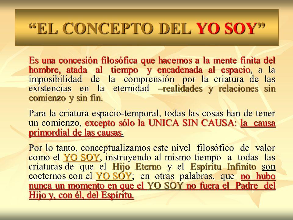 EL CONCEPTO DEL YO SOY