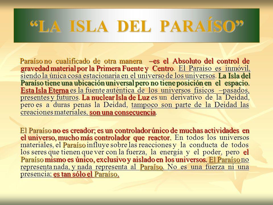 LA ISLA DEL PARAÍSO