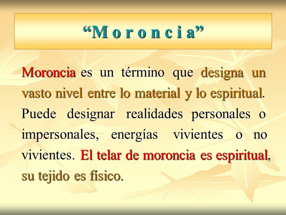 M o r o n c i a Moroncia es un término que designa un