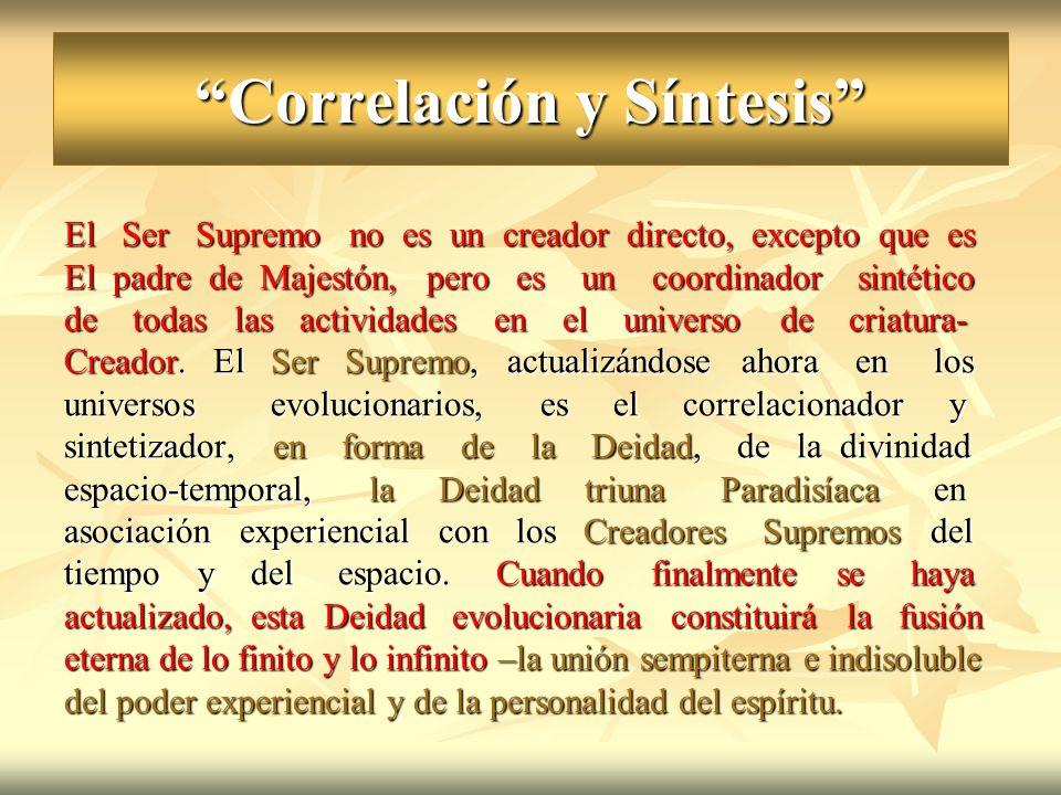 Correlación y Síntesis