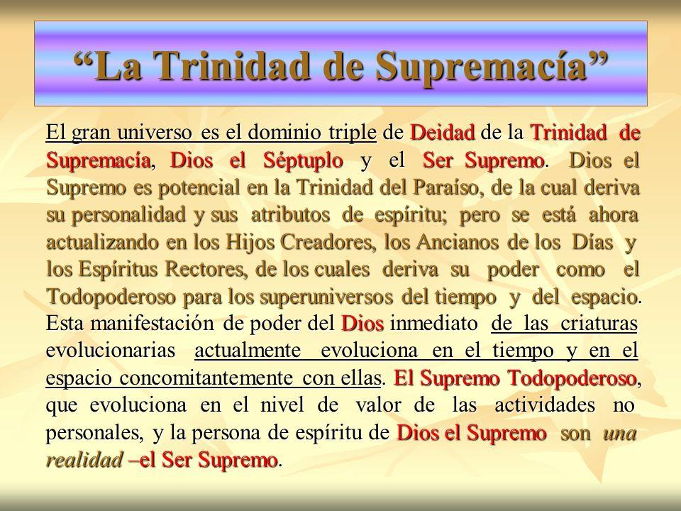 La Trinidad de Supremacía