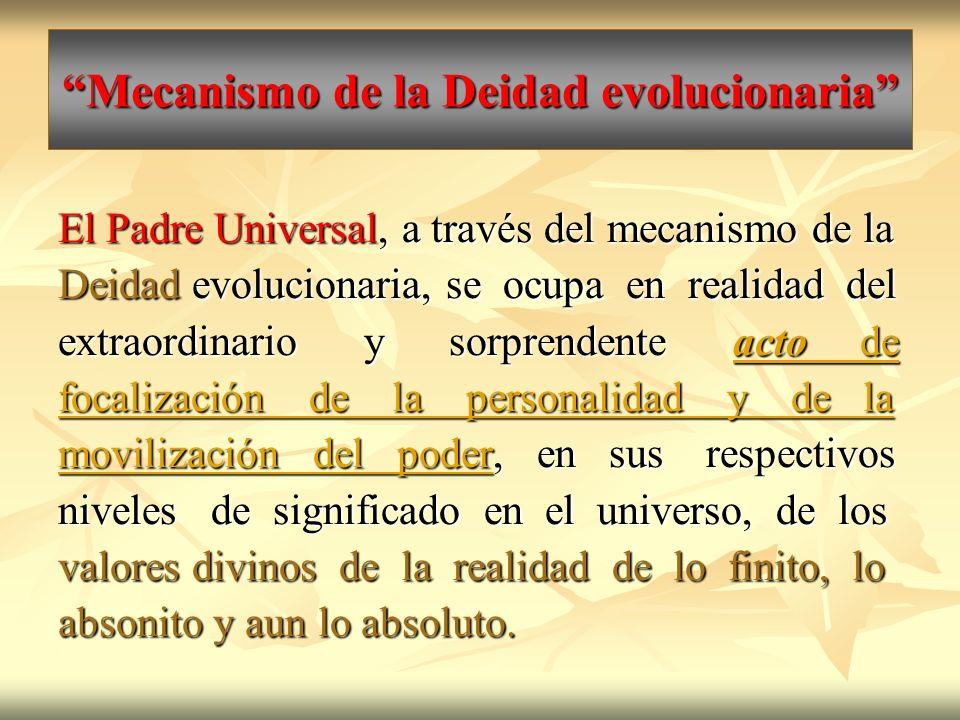 Mecanismo de la Deidad evolucionaria
