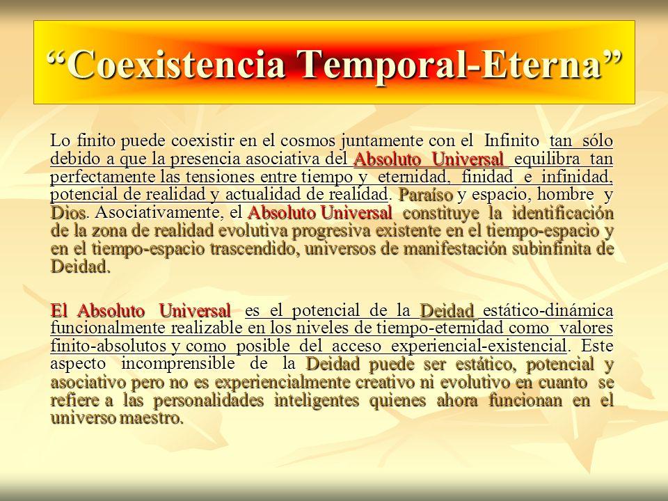 Coexistencia Temporal-Eterna