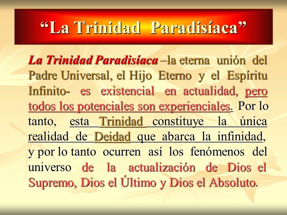La Trinidad Paradisíaca