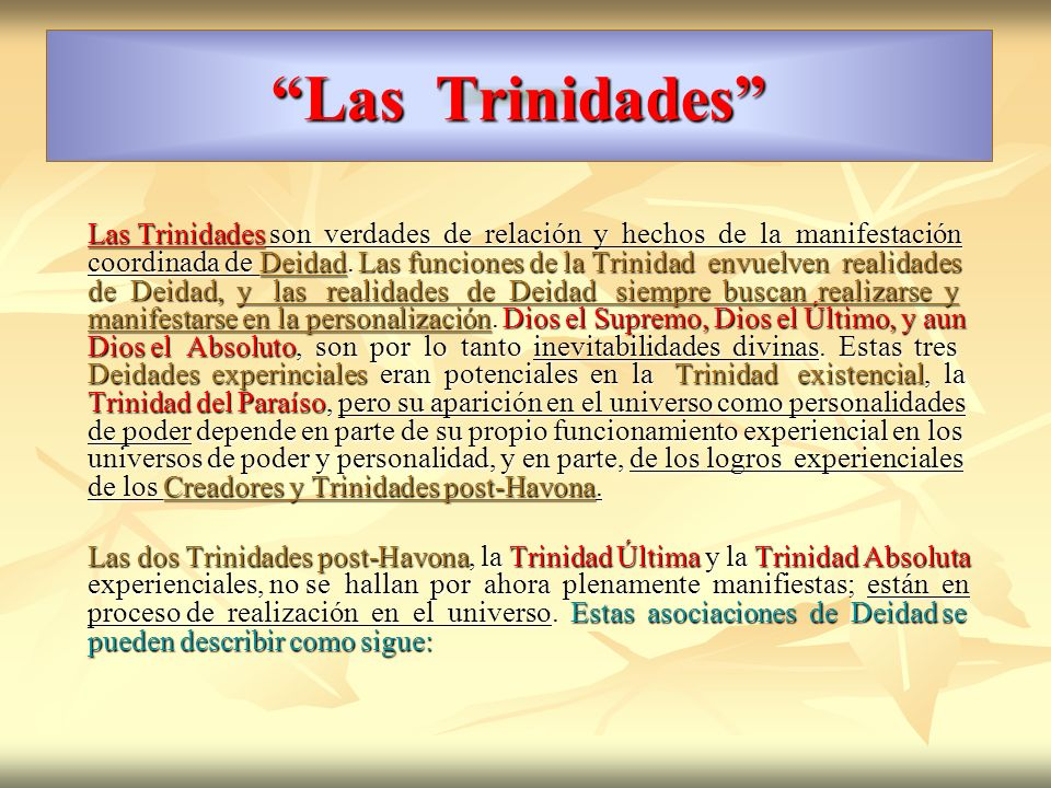 Las Trinidades