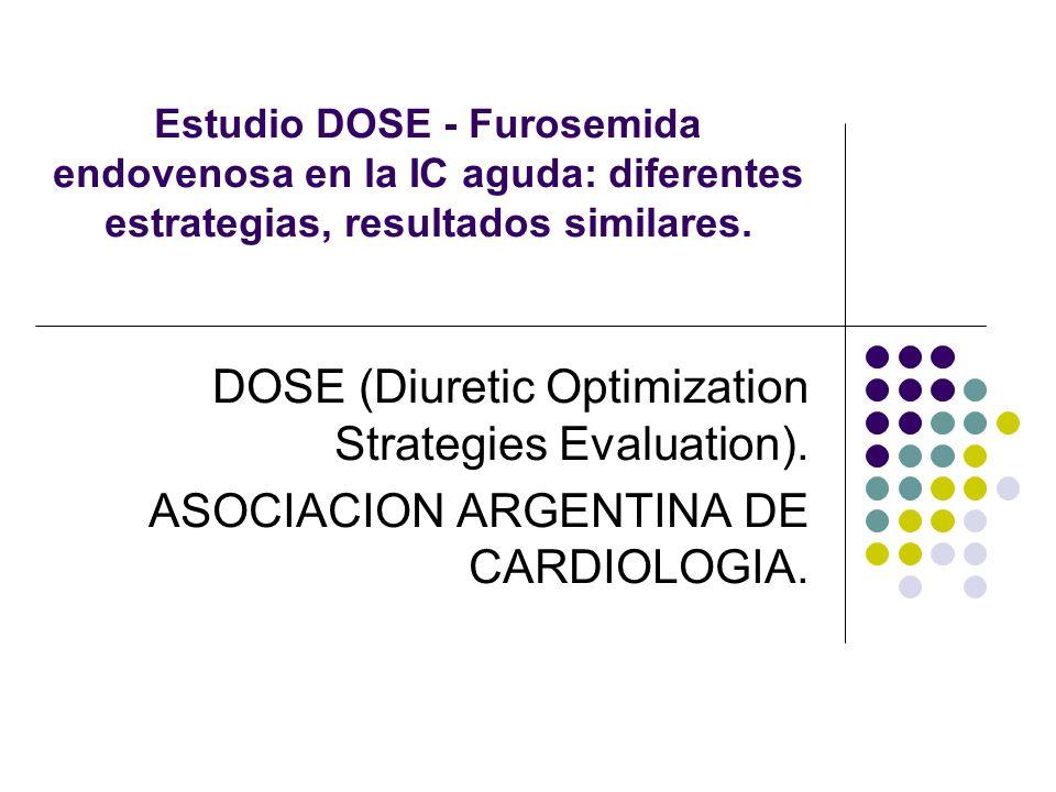 DOSE (Diuretic Optimization Strategies Evaluation).