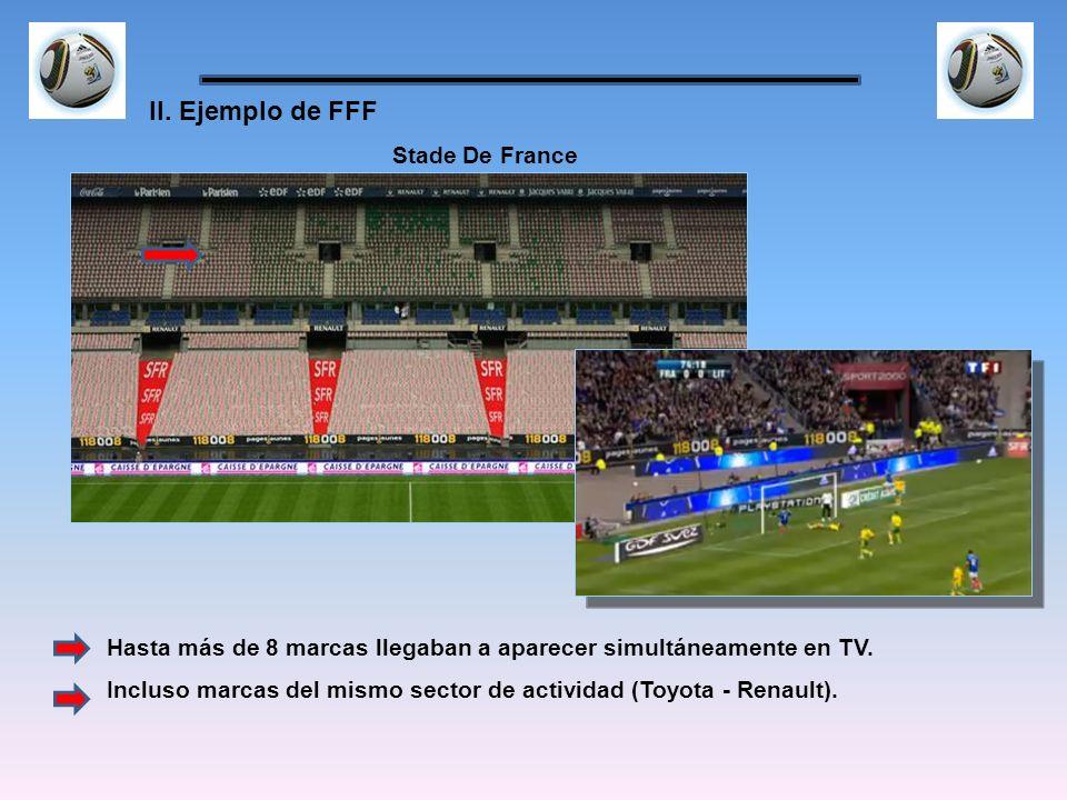 II. Ejemplo de FFF Stade De France