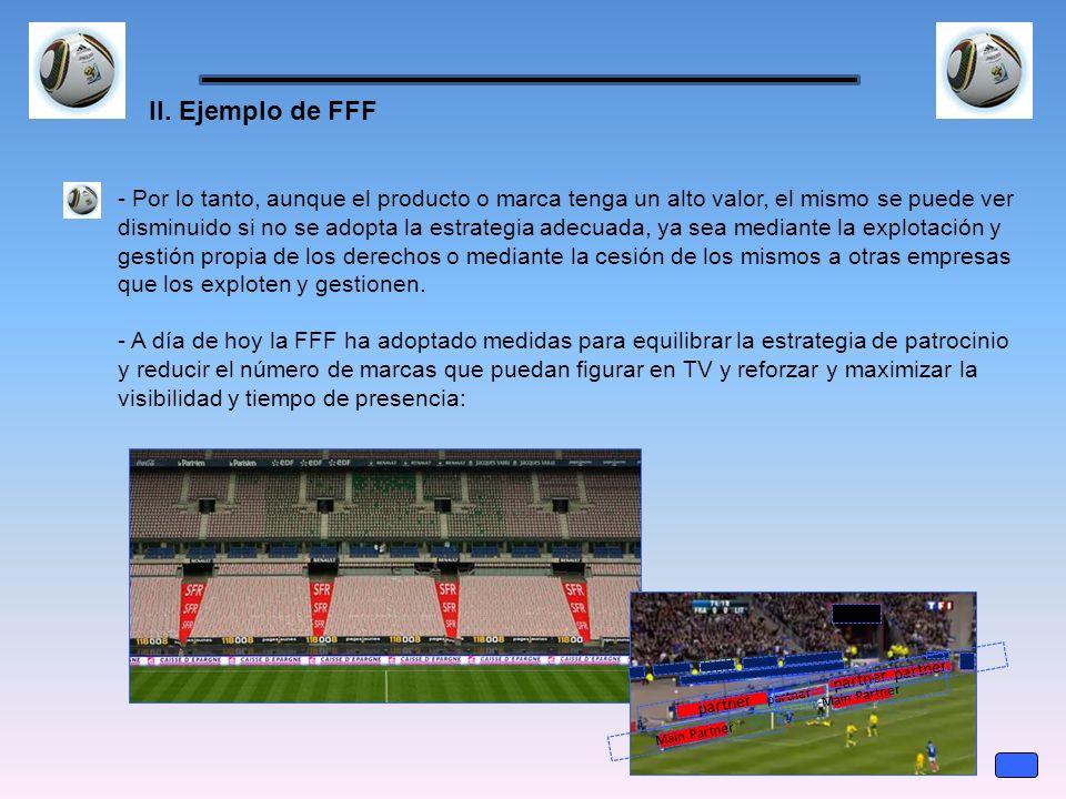 II. Ejemplo de FFF