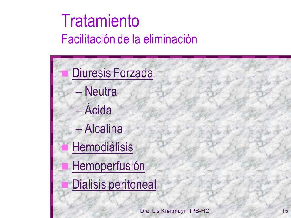 Tratamiento Facilitación de la eliminación