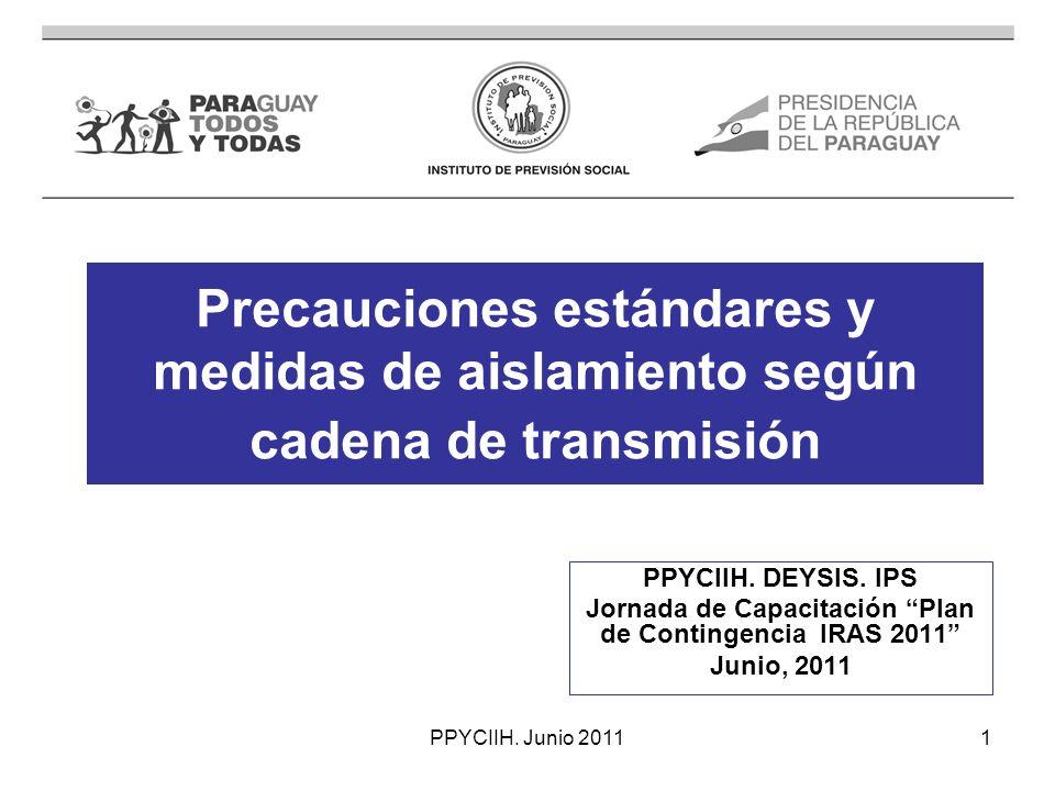 Jornada de Capacitación Plan de Contingencia IRAS 2011