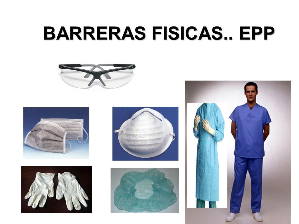 BARRERAS FISICAS.. EPP PPYCIIH. Junio 2011