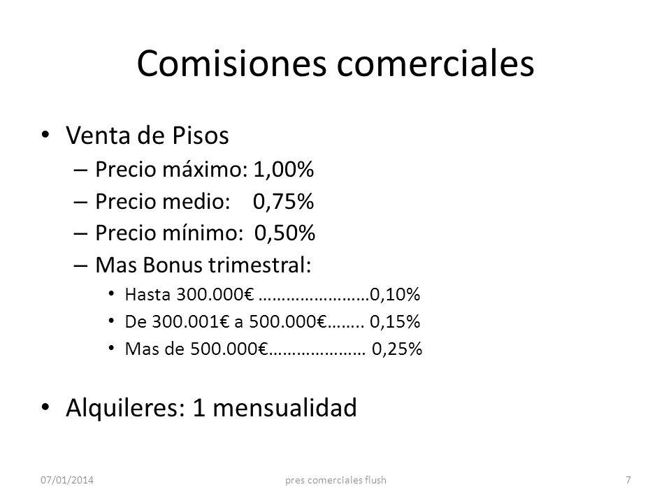 Comisiones comerciales