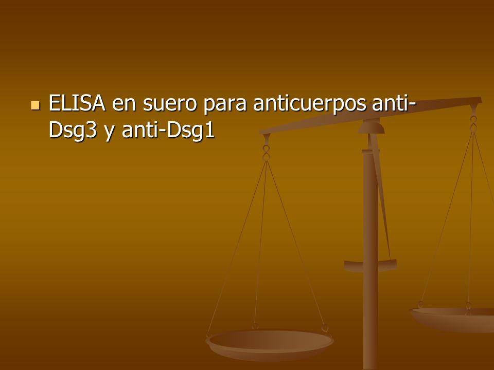 ELISA en suero para anticuerpos anti-Dsg3 y anti-Dsg1