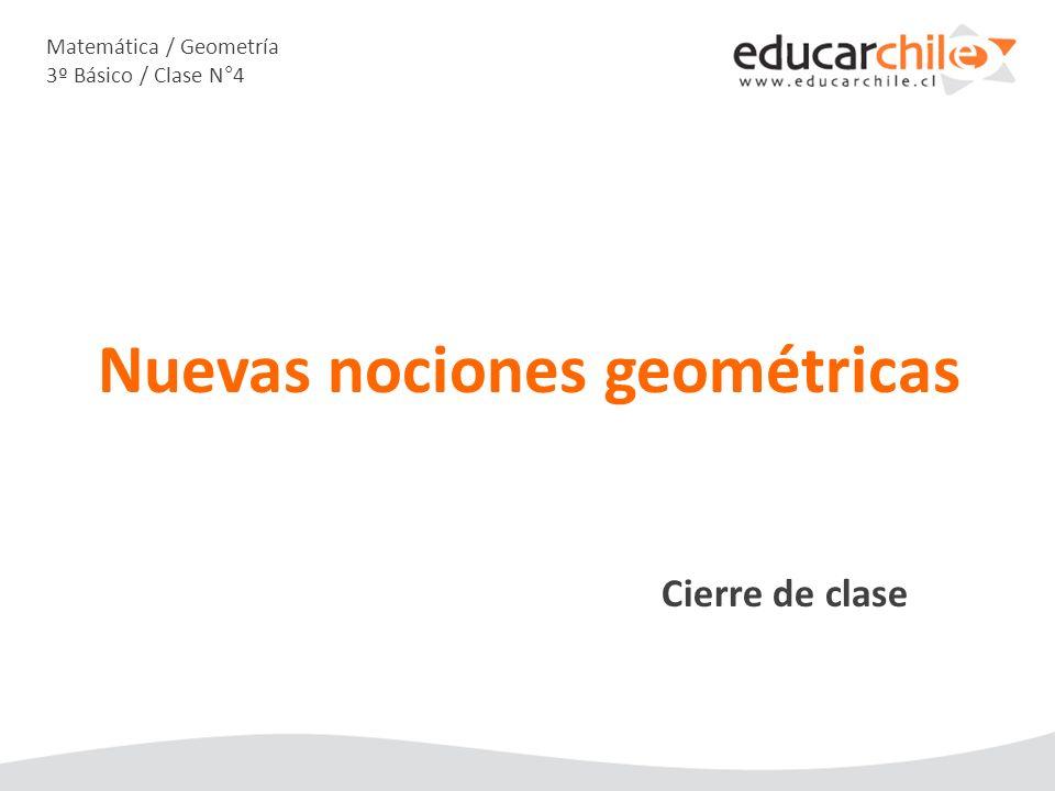 Matemática / Geometría 3º Básico / Clase N°4