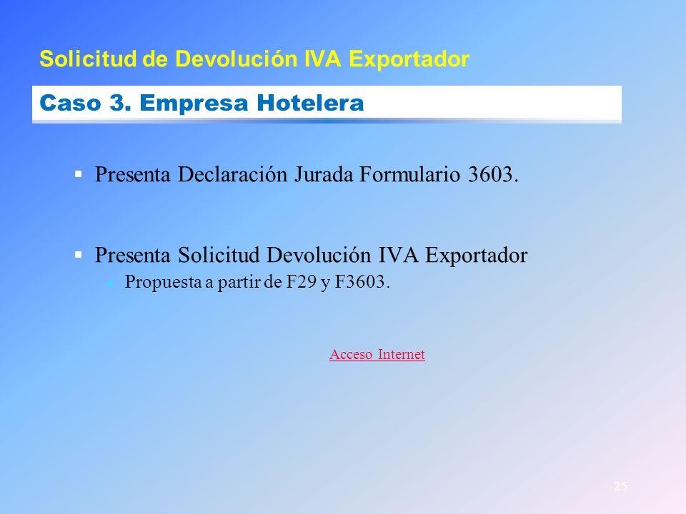 Solicitud de Devolución IVA Exportador