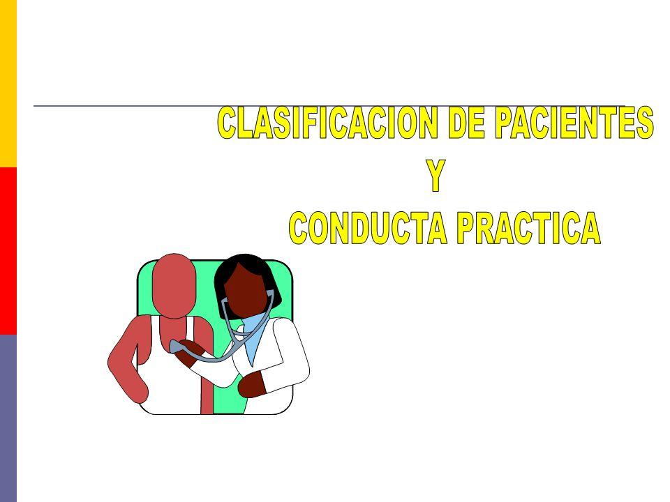 CLASIFICACION DE PACIENTES