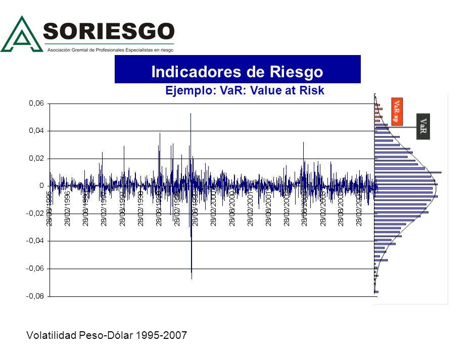 Volatilidad Peso-Dólar 1995-2007