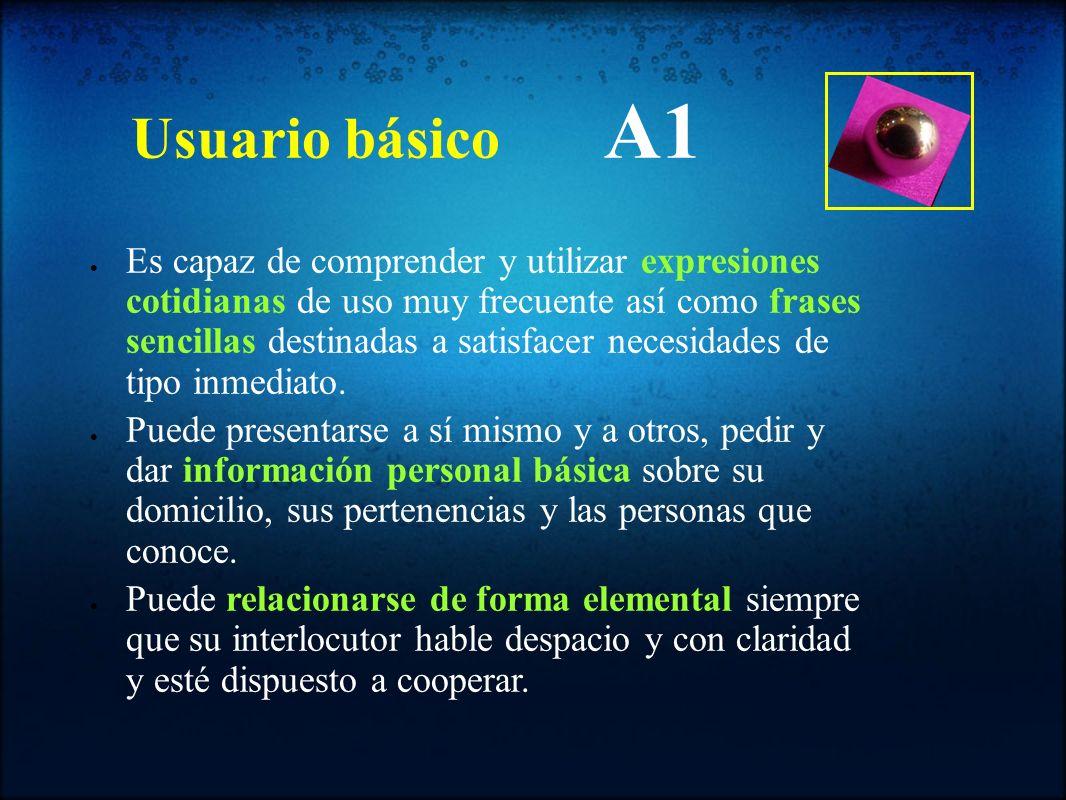Usuario básico A1