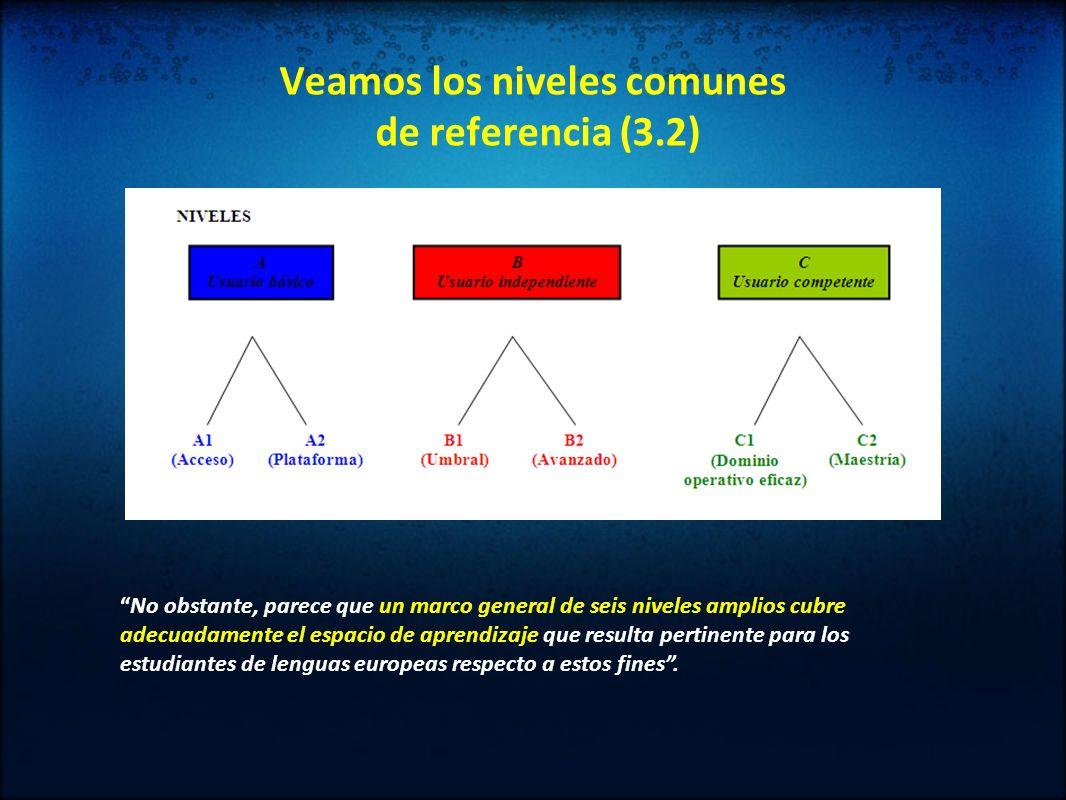 Veamos los niveles comunes de referencia (3.2)