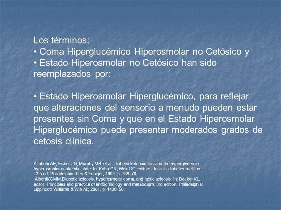 Coma Hiperglucémico Hiperosmolar no Cetósico y