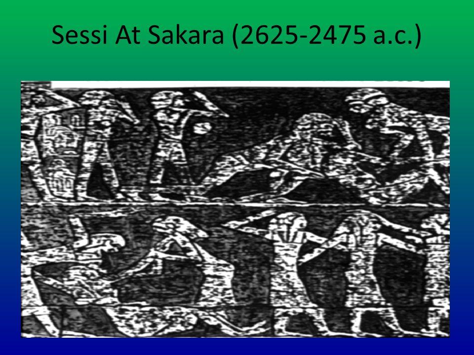 Sessi At Sakara (2625-2475 a.c.)