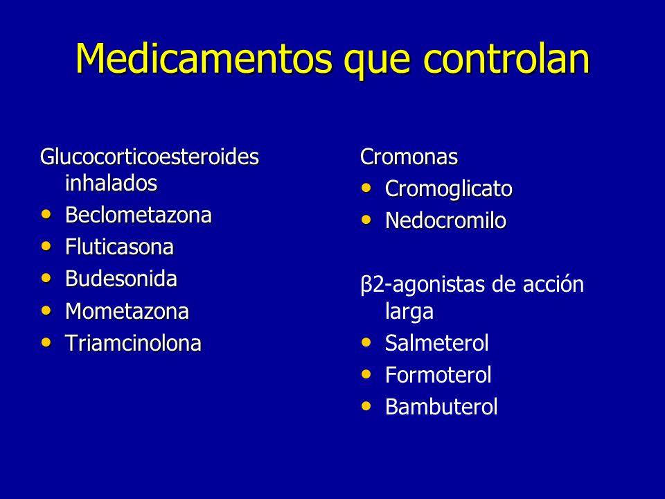 Medicamentos que controlan