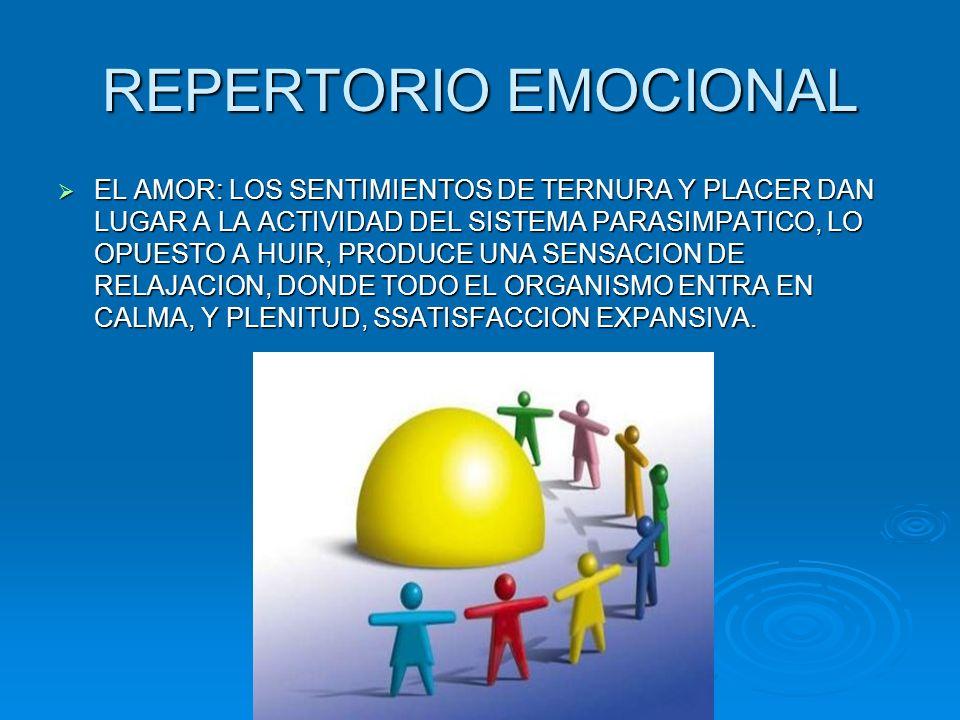 REPERTORIO EMOCIONAL
