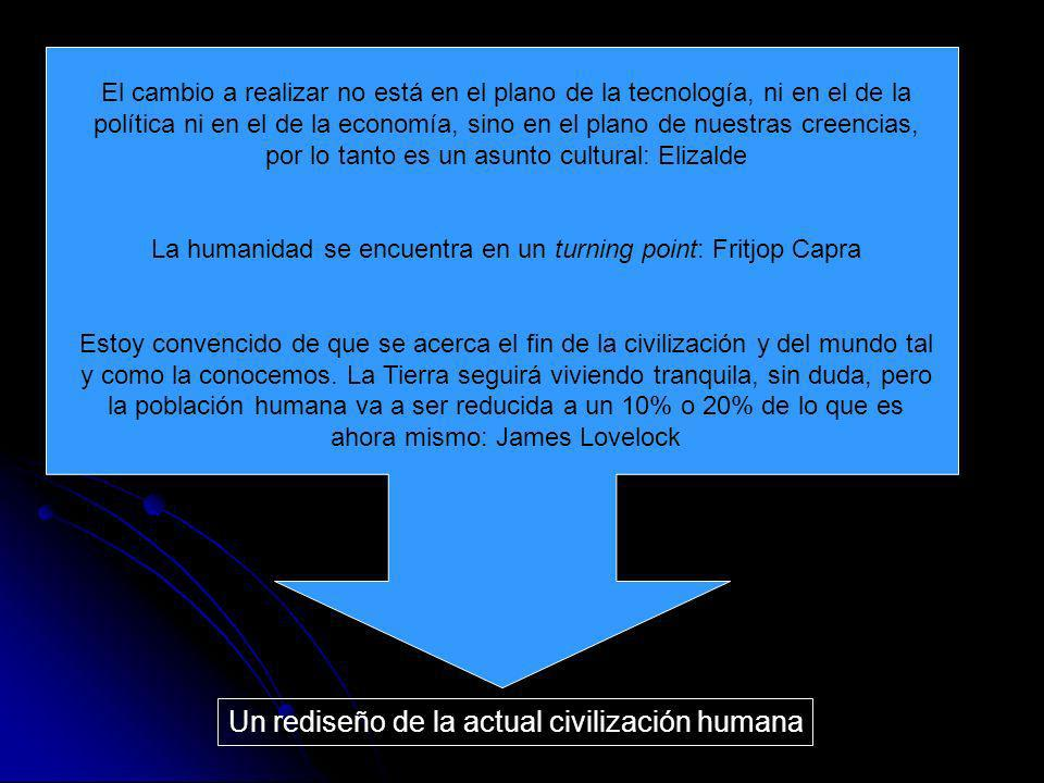 La humanidad se encuentra en un turning point: Fritjop Capra